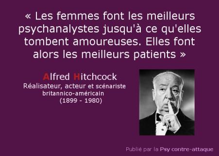 Hitchcock_femmes meilleurs psychanalystes